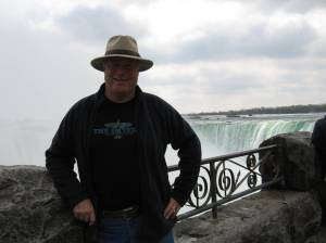 Ray at Niagara Falls